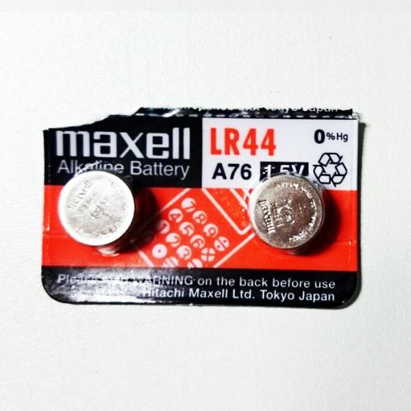 Maxell LR44 1.5V Lithium Knopfzelle 2Stück