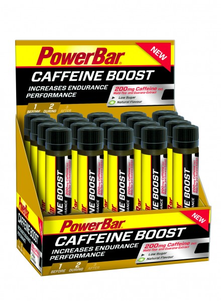 PowerBar Caffeine Boost Ampulle Box 20x25ml