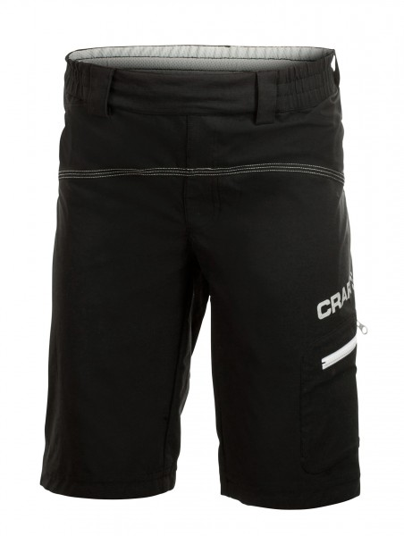 Craft Junior Bike Loosefit Shorts schwarz