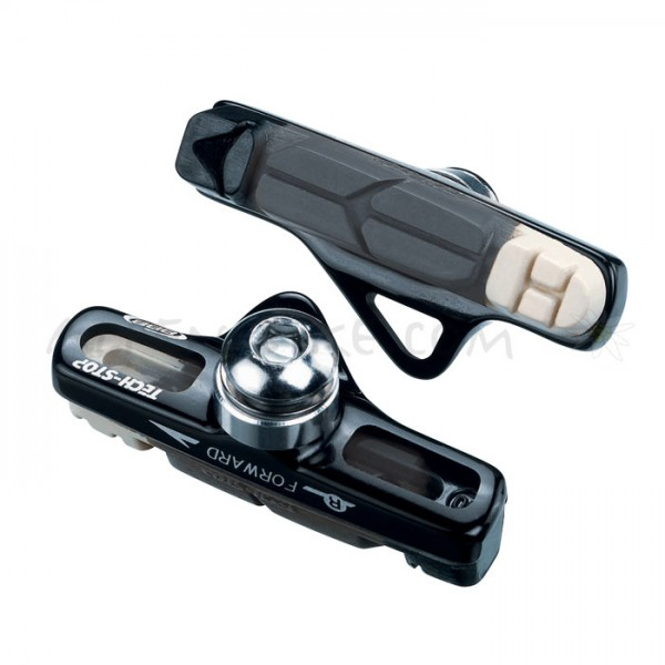 BBB TechStop Rennrad-Bremsschuh Cartridge BBS-22CT Campagnolo, schwarz / triple colour