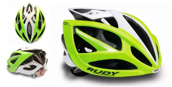 Rudy Project Airstorm Helm lime fluro-white shiny; S/M 54-58