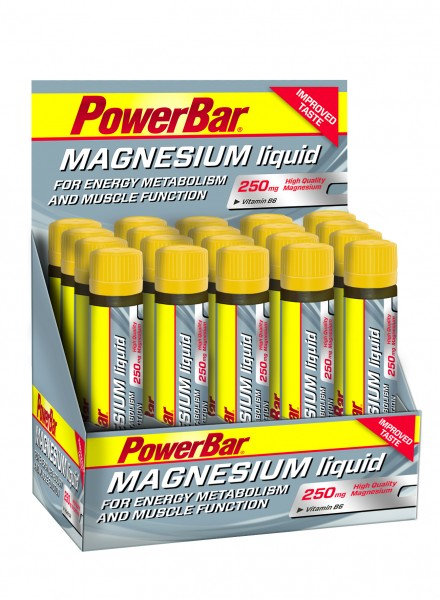 PowerBar Magnesium Liquid Ampulle Box 20x25ml