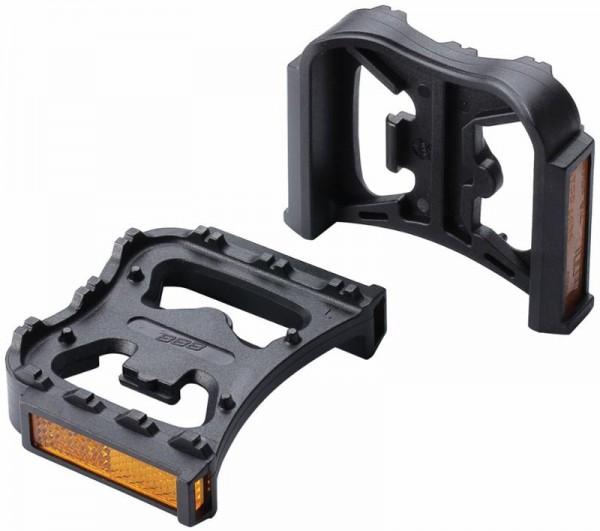 BBB FeetRest Clip Pedaladapter mit Reflektoren BPD-90 schwarz