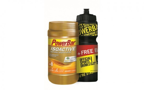 Powerbar Isoactive 600g + Bottle for free