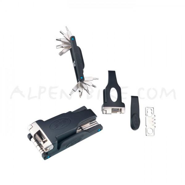 BBB MicroFold XXL Faltwerkzeug BTL-42XXL 19-Funktionen mit Kettennieter und Reifenheber