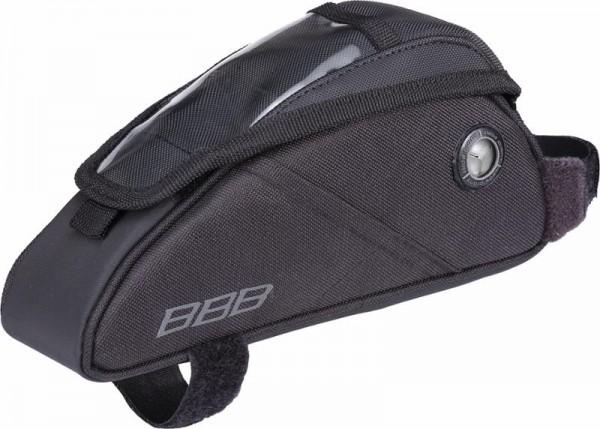 BBB FuelPack Oberrohrtasche BSB-17 mit Mini-Kartenfach, schwarz