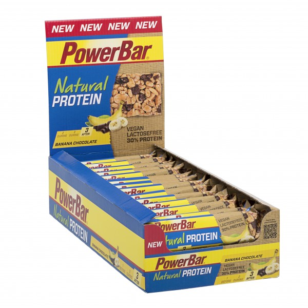 PowerBar Natural Protein Riegel Box 24x40g