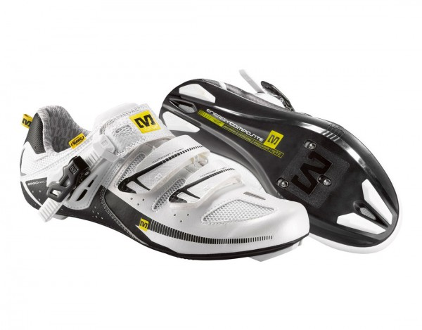 Mavic Giova Women pearl white/black
