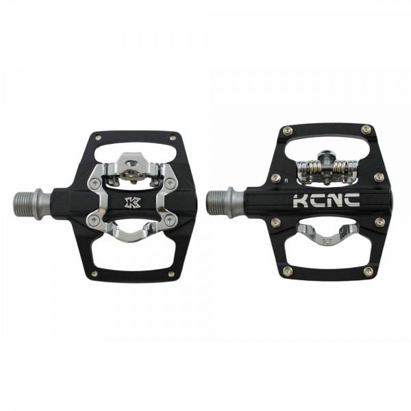 KCNC AM Trap Clip-/Plattformpedal mit Stahlachse