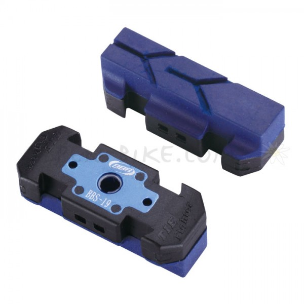 Bremsschuh BBB Hydrostop High Performance BBS-19HP blau für Magura HS Bremsen-Copy