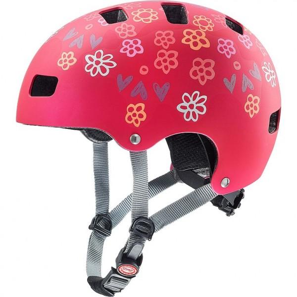 Uvex kid 3 cc Helm dark red 51-55