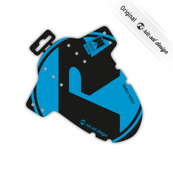 rie:sel design Mudguard criss:cross blue