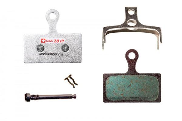 Swissstop Disc 28 E Bremsbeläge für Shimano/FSA/Rever