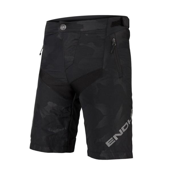 Endura Kinder Mt500JR Baggy Shorts m Innenhose Camouflage-Dunkel