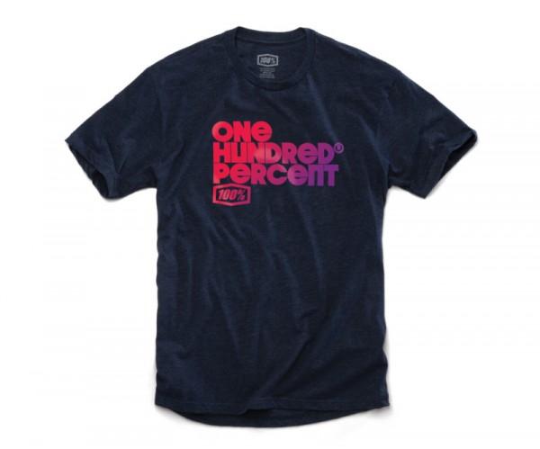 100% Republique T-Shirt navy heather
