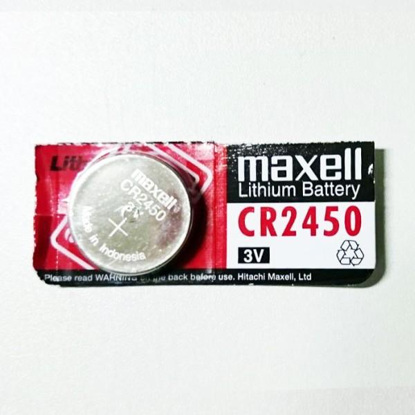 Maxell CR2450 3V Lithium Knopfzelle