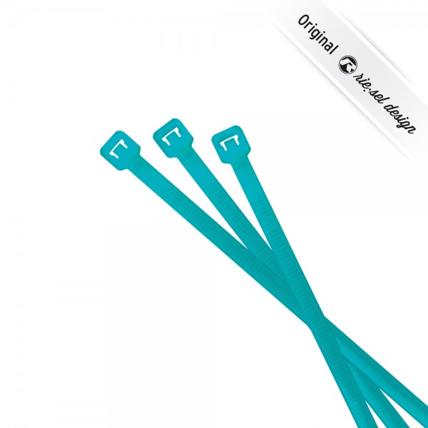 rie:sel design Kabelbinder cable:ties neon blue