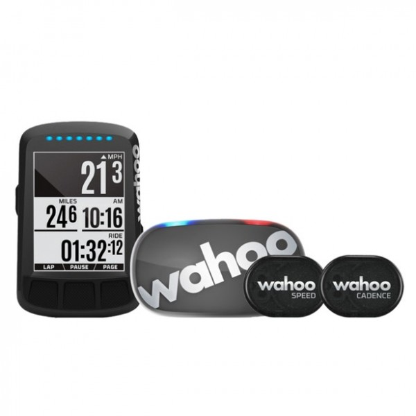Wahoo Elemnt Bolt Stealth-Edition Bundle
