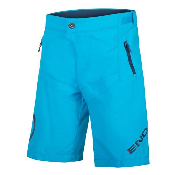 Endura Kinder MT500JR Baggy Shorts m Innenhose Electric Blue