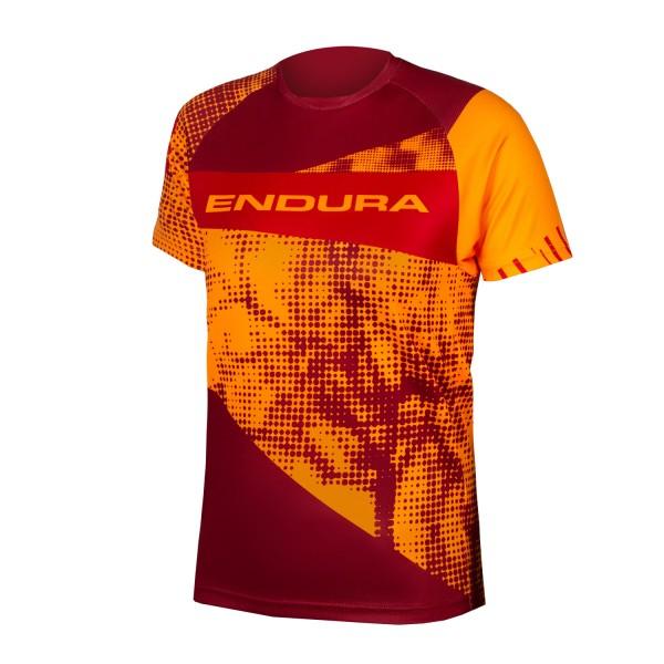 Endura Kinder MT500JR T-Shirt kurzarm Mandarine