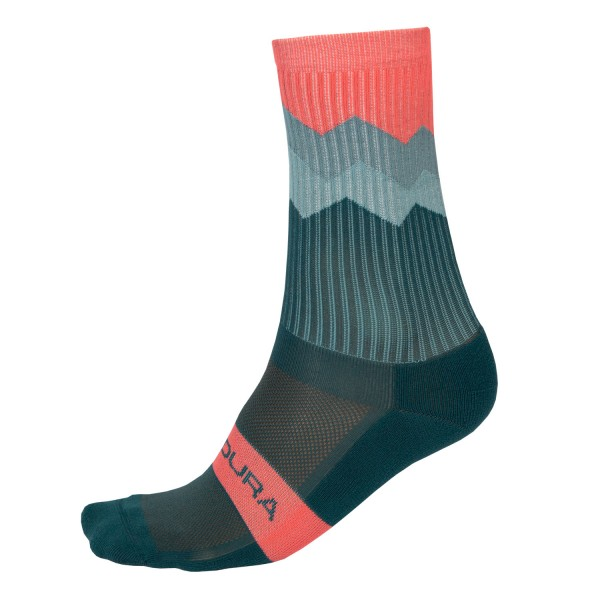 Endura Zacken Socken Fichtgrün