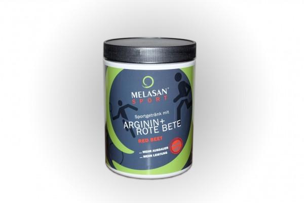 Melasan ® Sportgetränk mit Arginin + Rote Beete; Instantpulver 650g Dose