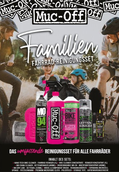 Muc Off Familien Fahrrad Reinigungsset