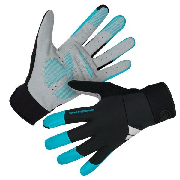Endura Damen Windchill Handschuh Pazifik Blau