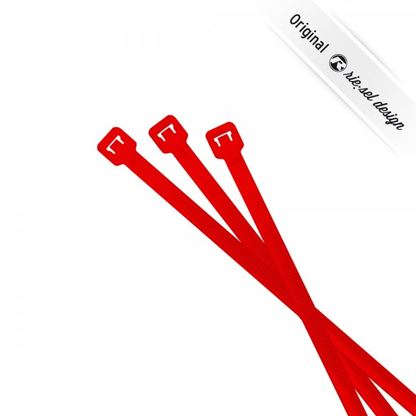 rie:sel design Kabelbinder cable:ties red