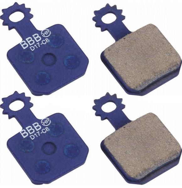BBB DiscStop HP Bremsbelag 1 Paar BBS-372 für Magura MT7