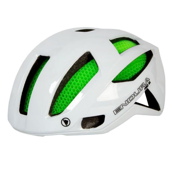 Endura Pro SL Helm Weiß