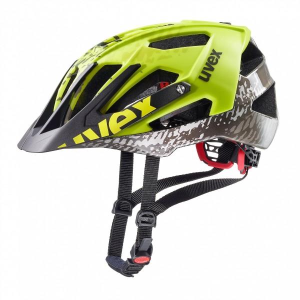 Uvex Quatro Helm dirt neon yellow 52-57 cm