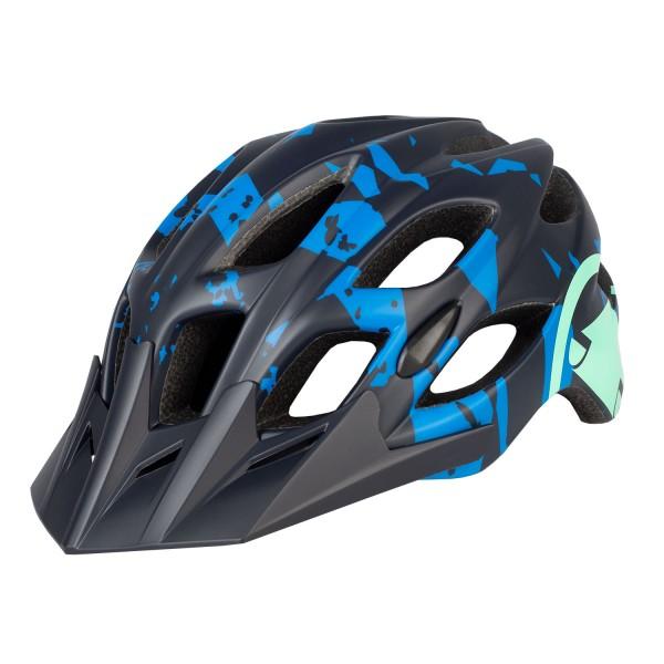 Endura Hummvee Helm Azurblau