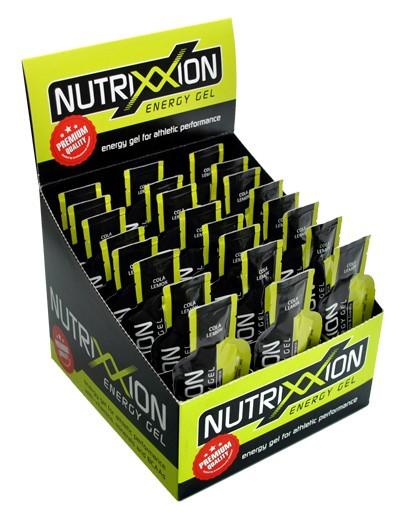 Nutrixxion Energy Gel mit Koffein Box 24x44g