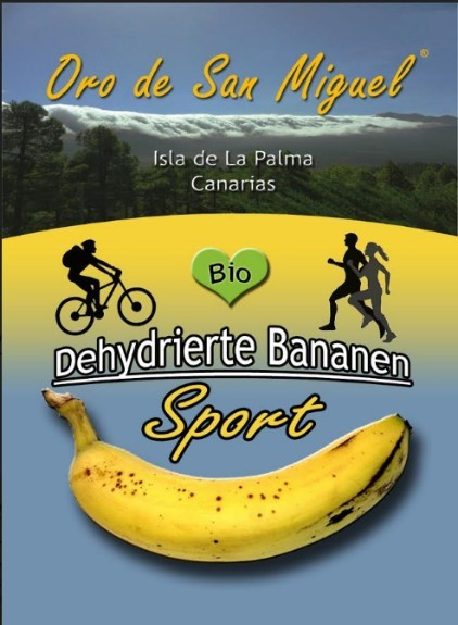 Trail Fruits Dehydrierte Bananen Sport 60g