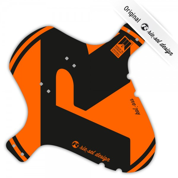 rie:sel design Mudguard kol:oss orange