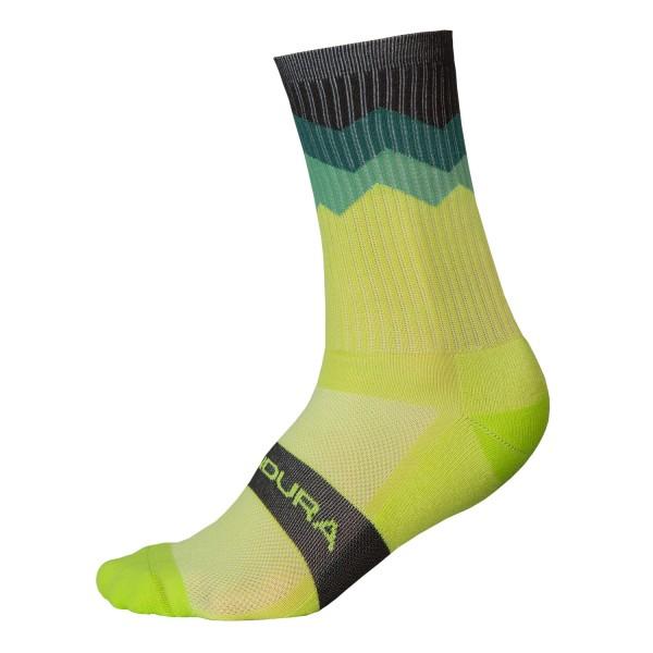 Endura Zacken Socken Giftgrün