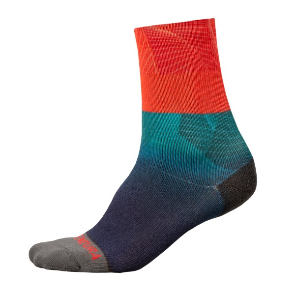 Endura Lines Socken LTD Abendrot L-XL