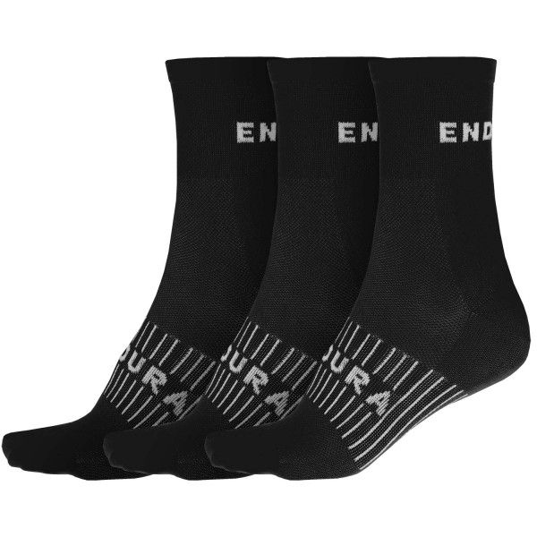 Endura Coolmax® Race Socken schwarz 3er