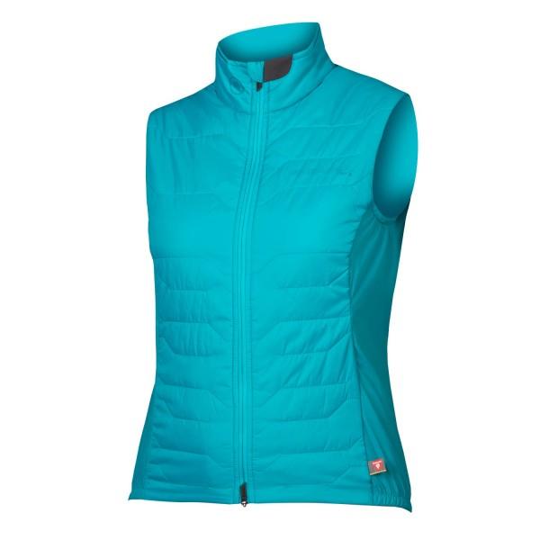 Endura Damen Pro SL PrimaLoft® Weste Pazifik blue