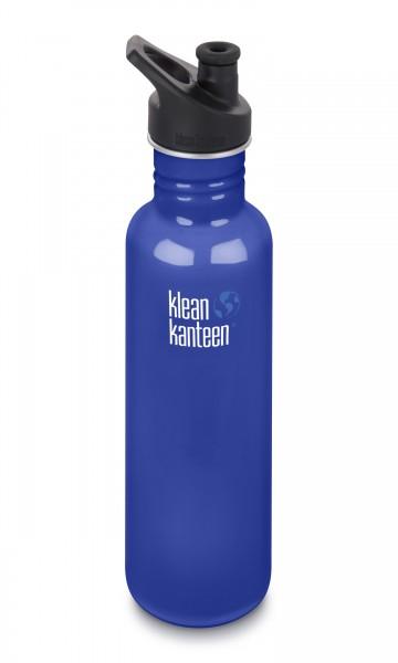 Kanteen Classic Trinkflasche m Sport Cap 800ml