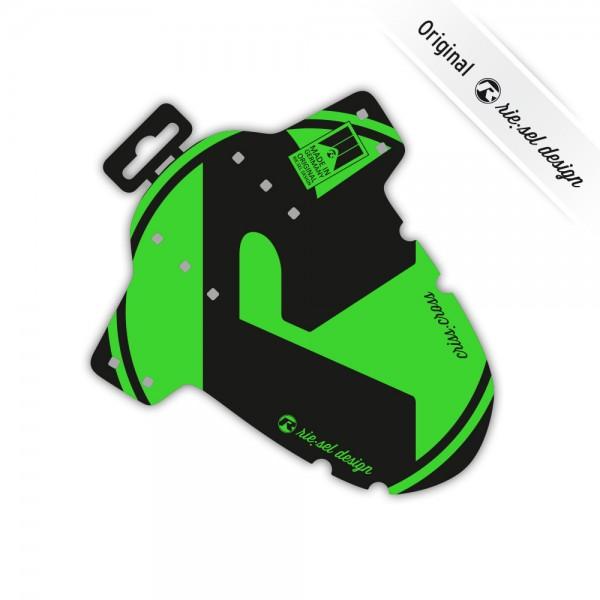 rie:sel design Mudguard criss:cross green