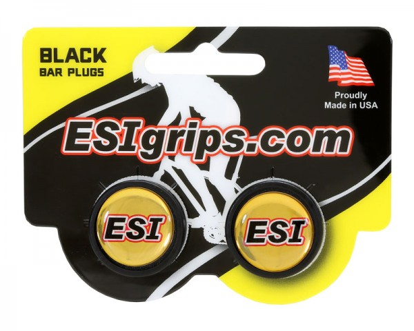 ESIgrips Bar Plugs black Lenkerendstopfen