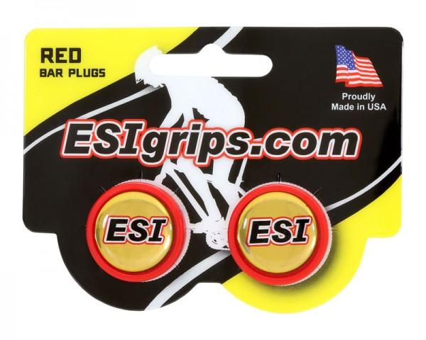 ESIgrips Bar Plugs red Lenkerendstopfen