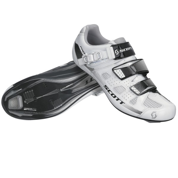 Scott Road Pro white/black gloss