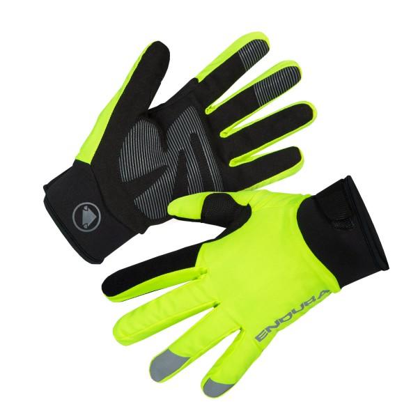 Endura Damen Strike Handschuh Neon-Gelb
