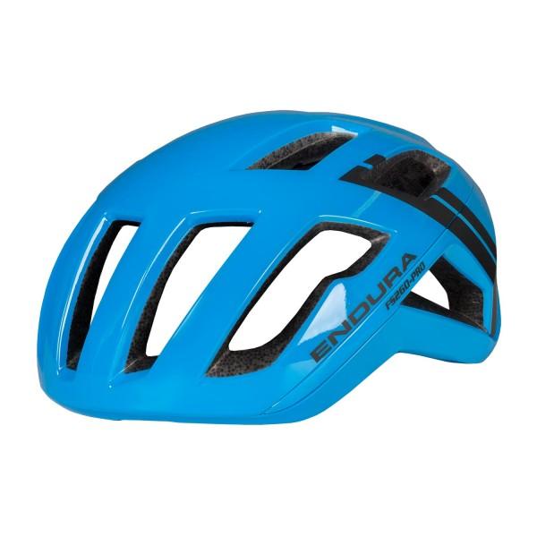 Endura FS260-Pro Helm Neon-Blau M-L