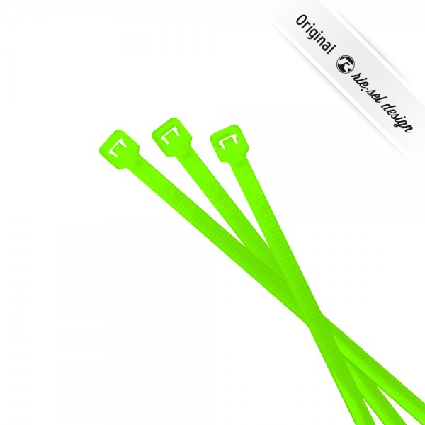 rie:sel design Kabelbinder cable:ties neon green